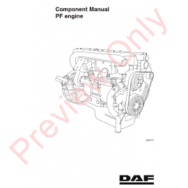 DAF Trucks Series CF65 CF75 CF85 Workshop Manual PDF Download