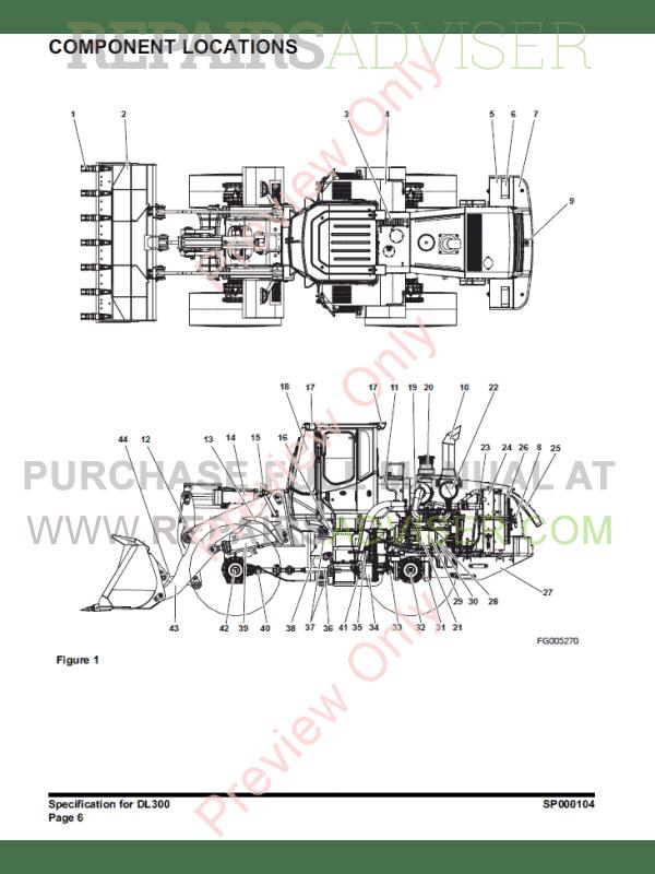 DOOSAN Wheel Loader Safety DL300 Set of PDF Manuals Download