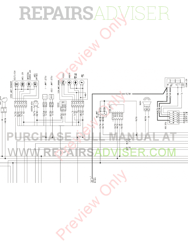 Daewoo Doosan 430 Plus Skid Steer Loader Set Schematics of