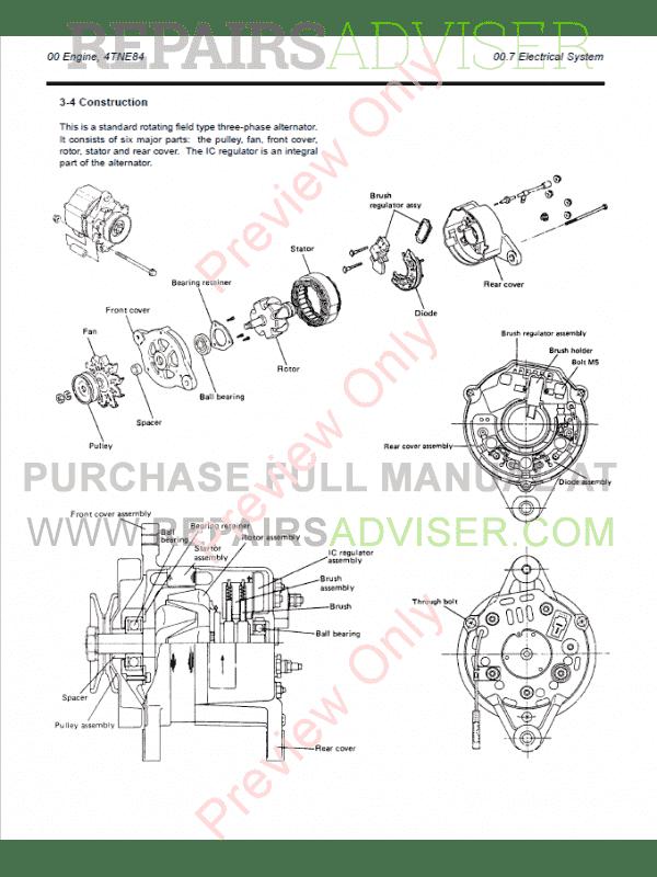 daewoo brakes diagram