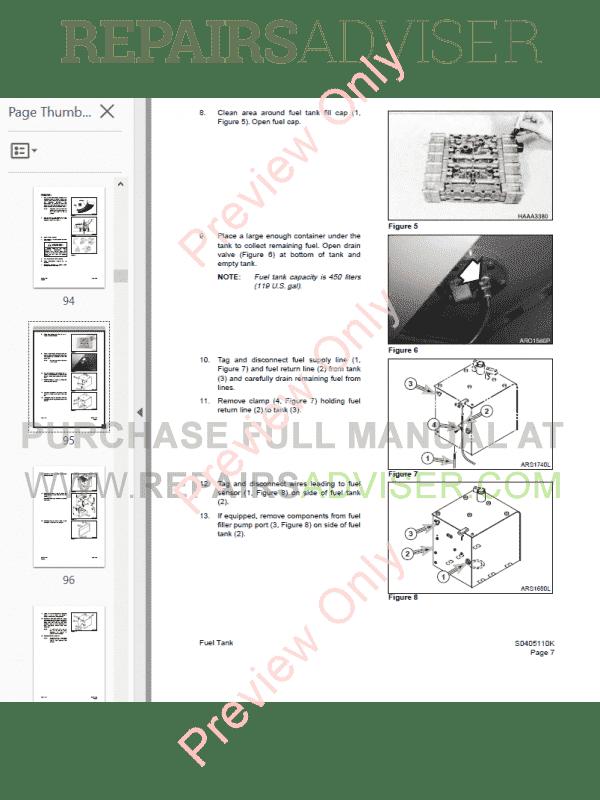 Daewoo Doosan Solar 250LC-V 290LC-V Excavator Shop Manual PDF
