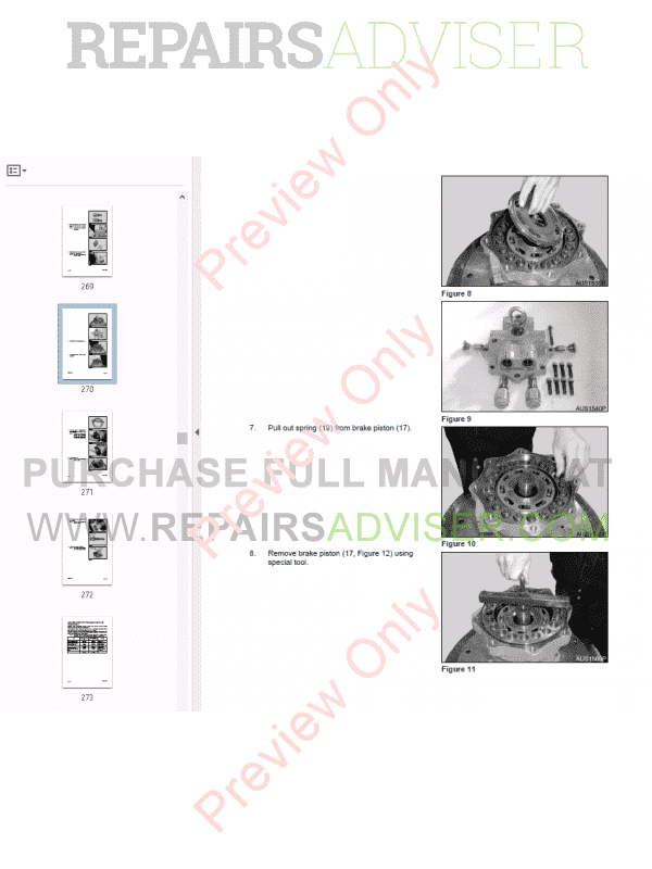 Daewoo Solar 340LC-V Track Excavator Shop Manual PDF Download