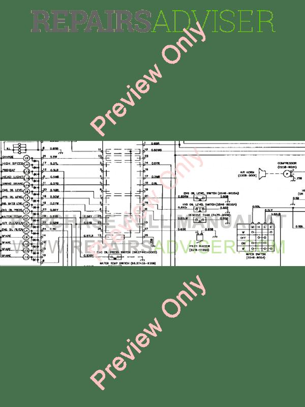 Daewoo Track Excavator DH320LC Schemes Set of PDF Download