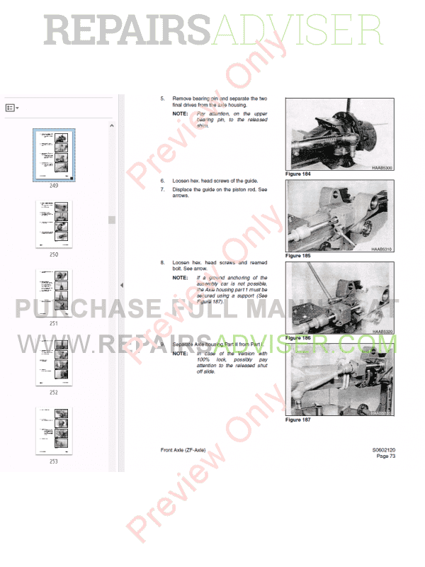 Daewoo Wheel Excavator Solar 180W-V Shop Manual PDF Download