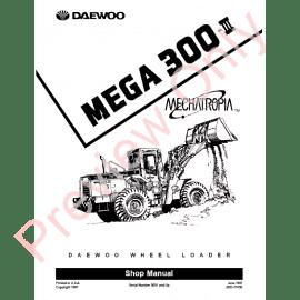 Daewoo Doosan 430, 440 Plus, 450, 460 Loader Service
