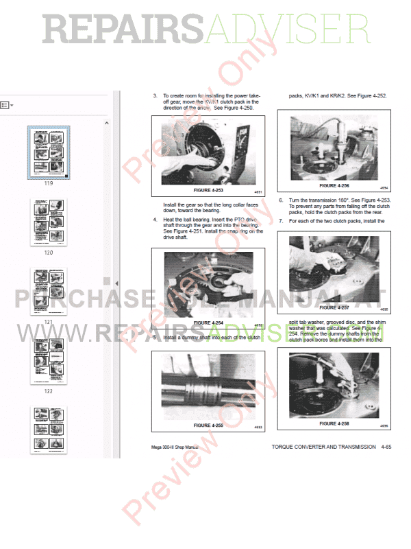 Daewoo Wheel Loader Mega 300-III Shop Manual PDF Download