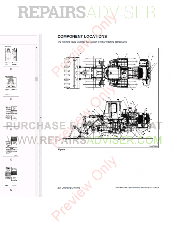 Daewoo Wheel Loader Mega 300-V Set of PDF Manuals Download