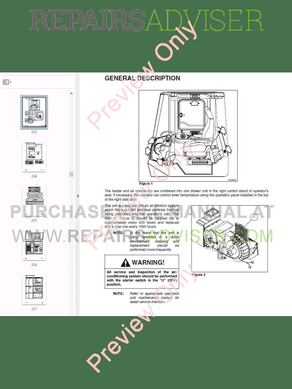 Daewoo Wheel Loader Mega 300-V Set of PDF Manuals Download