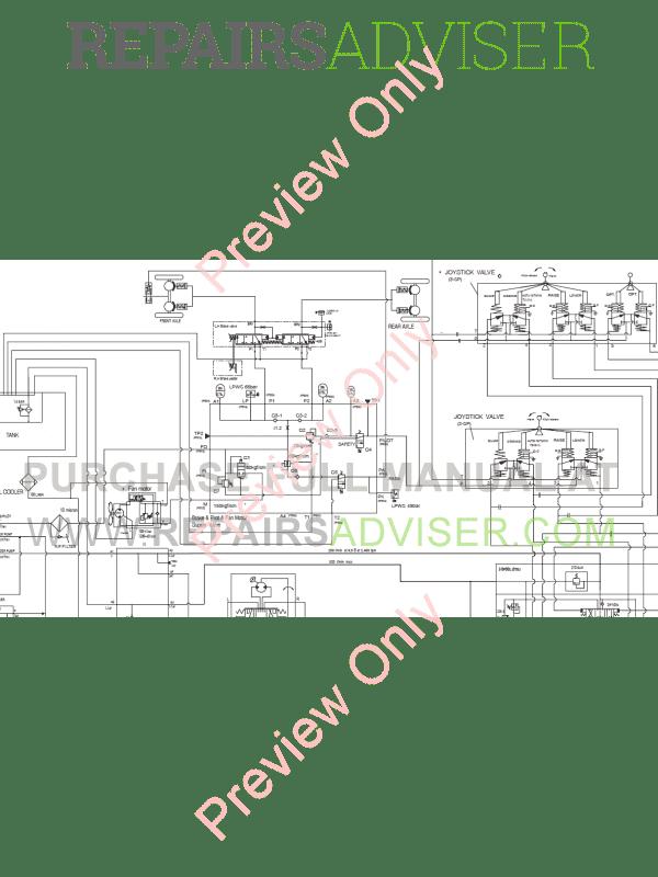 Doosan DL220 Wheel Loader Schemes Set of PDF Download