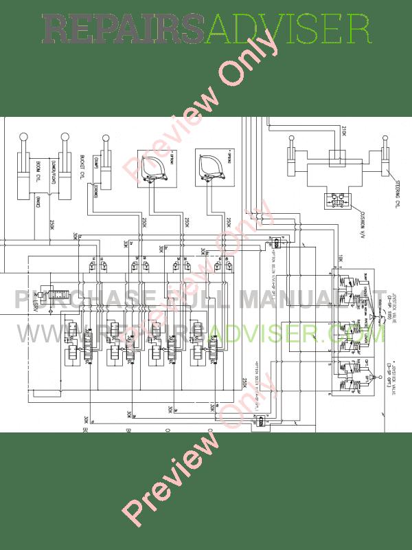 Doosan DL250 Wheel Loader Set Schematics of PDF Download