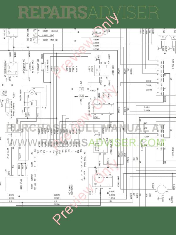 Doosan DL300 Wheel Loader Schemes Set of PDF Download