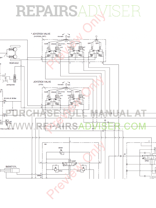 Doosan DL350 Wheel Loader Schemes Set of PDF Download