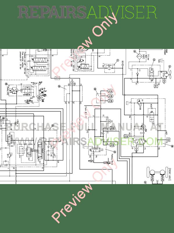 Doosan DL350 Wheel Loader Schemes Set of PDF Download