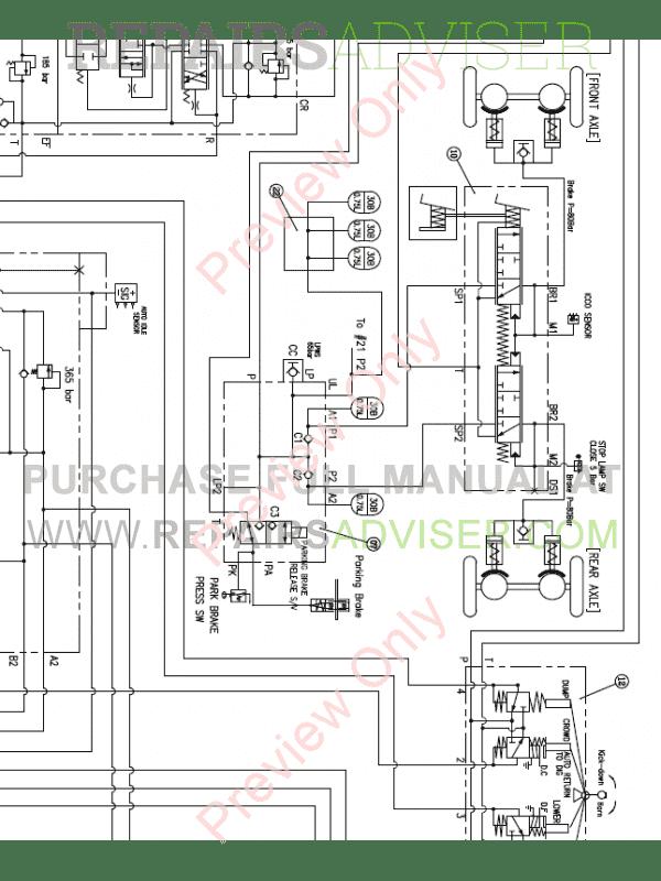 Doosan DL450 Wheel Loader Schemes Set of PDF Download