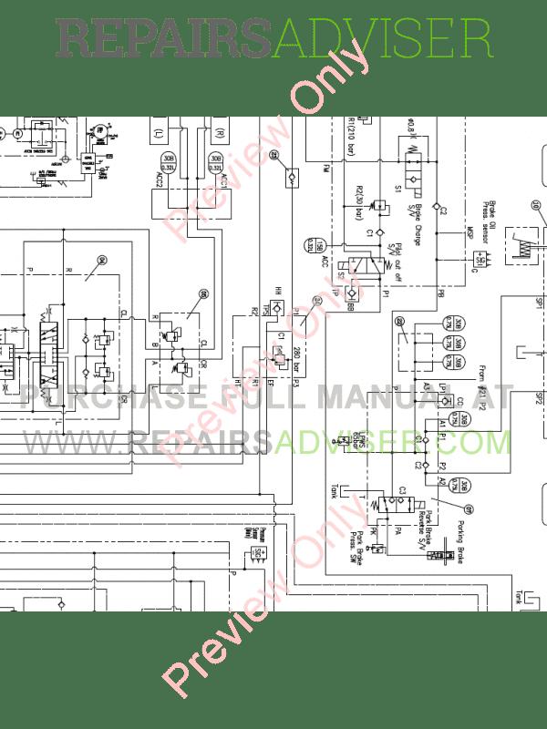 Doosan DL550-3 Wheel Loader Schemes Set of PDF Download