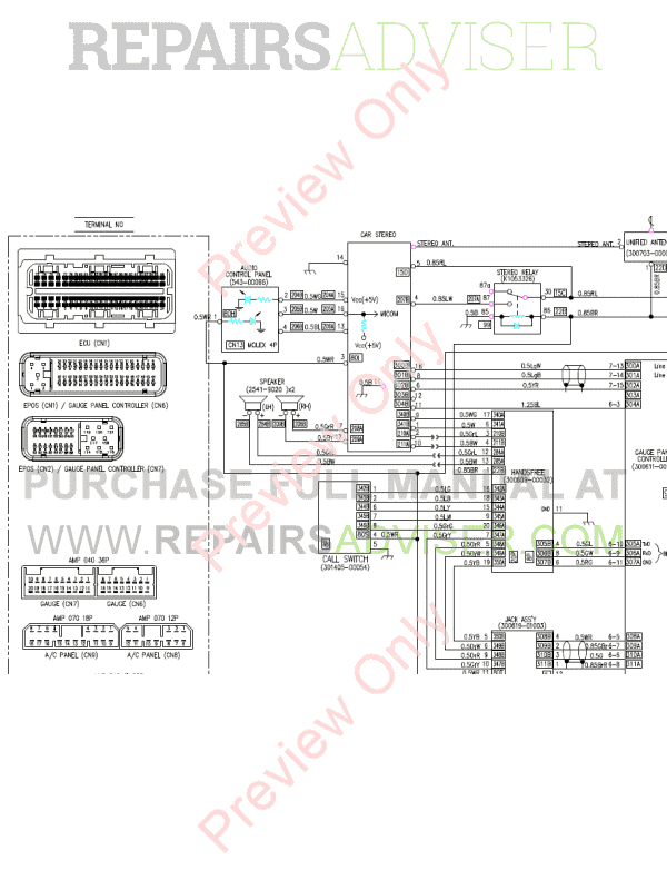 Doosan DX140LC-3 Hydraulic Excavator Schemes Set of PDF