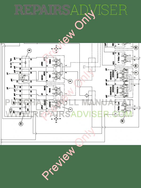 Doosan DX140LC-3 Hydraulic Excavator Schemes Set of PDF