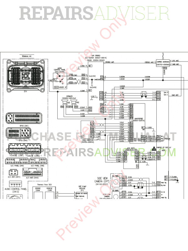 Doosan DX180LC-3 Hydraulic Excavator Schemes Set of PDF