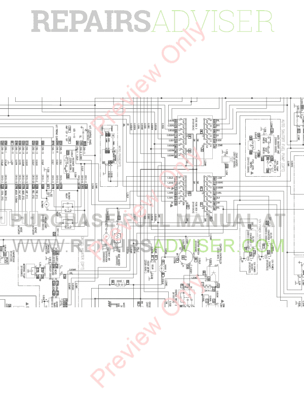 Doosan DX420LC-3 Hydraulic Excavator Set Schematics of PDF