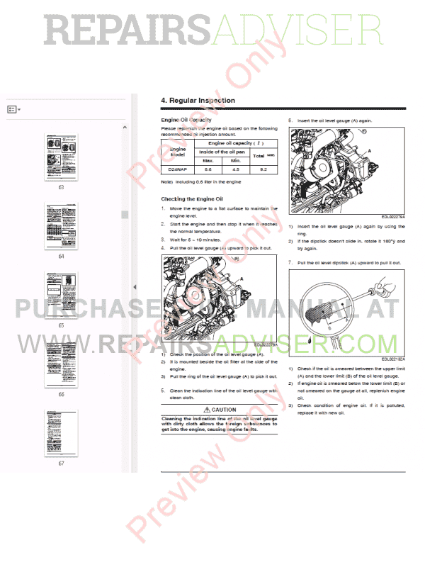 Doosan Diesel Engine D24NAP Operation & Maintenance Manual
