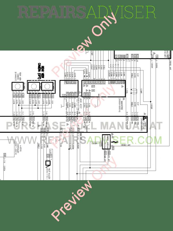 Doosan Excavator DX380LC-3 Schemes Set of PDF Download