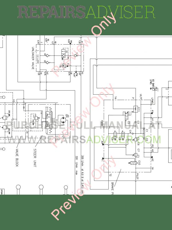 Doosan M200-V Wheel Loader Schemes Set of PDF Download