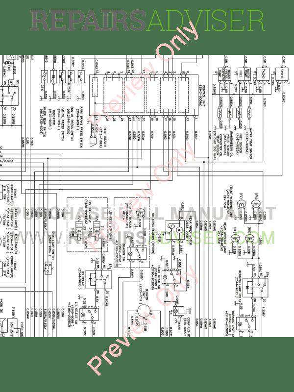 Doosan M250-V Wheel Loader Schemes Set of PDF Download
