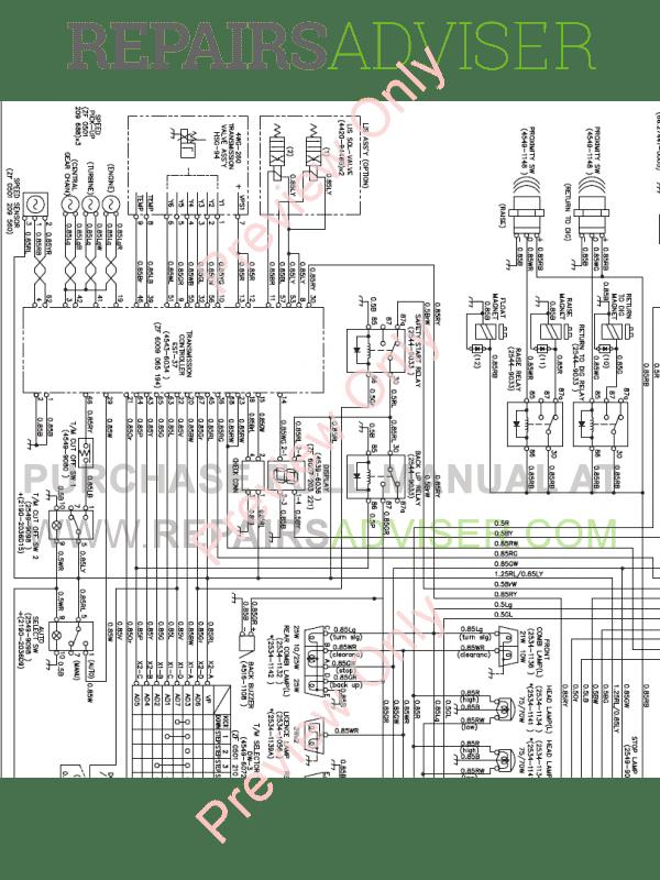 Doosan M400-V Wheel Loader Schemes Set of PDF Download