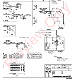 Doosan S170W-V Wheel Excavator Schemes Set of PDF Download