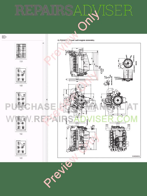 Doosan P158/180/222LE Generator Diesel Engines Maintenance
