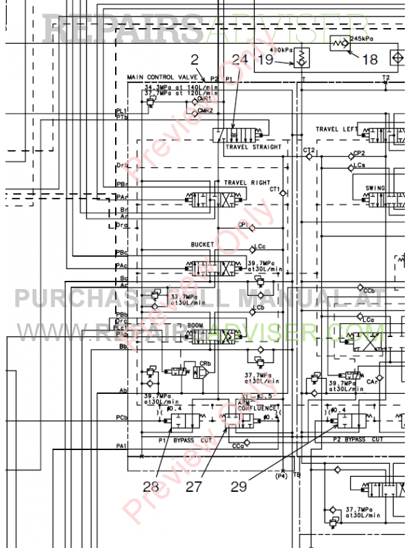 Fiat Kobelco Excavator E215, E235 Evolution Manual PDF