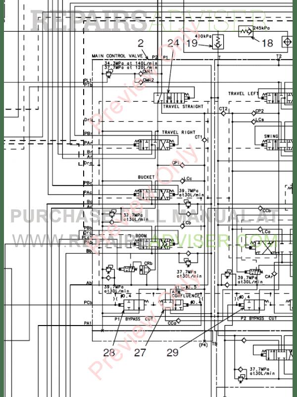 Fiat Kobelco Excavator E215, E235 Evolution Manual PDF