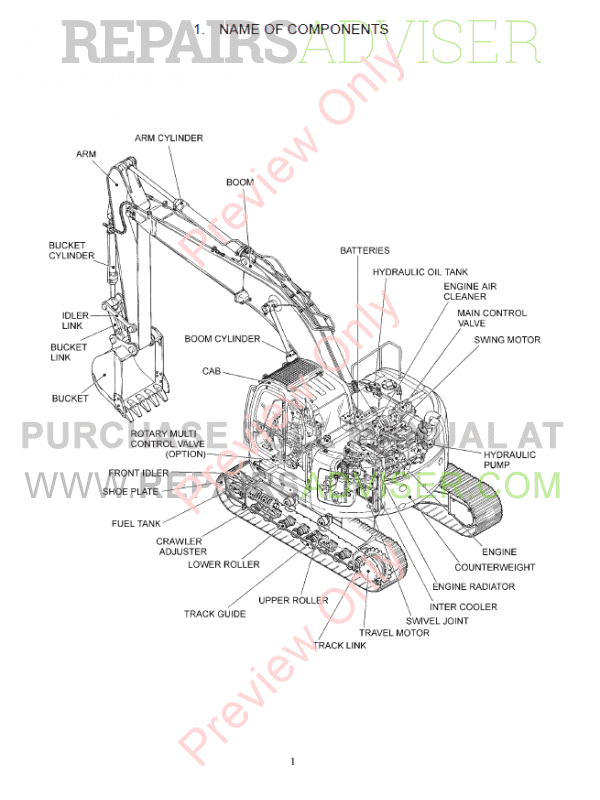 Fiat Kobelco Crawler Excavator E235SR Evolution Manual PDF