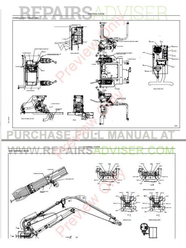 Fiat Kobelco E16, E18 Evolution Excavators Workshop Manual