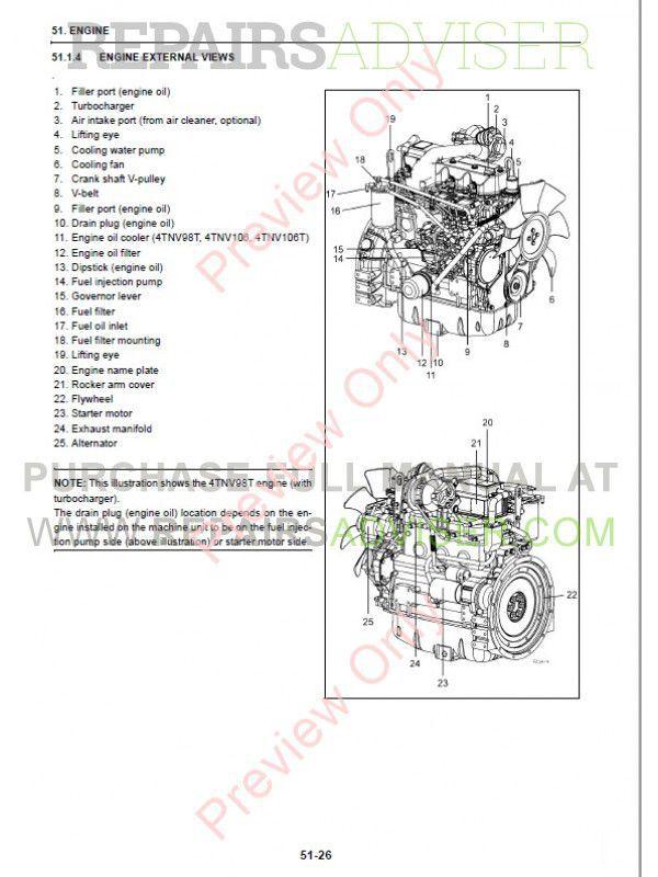 Fiat Kobelco E30.2SR, E35.2SR Excavators Workshop Manual