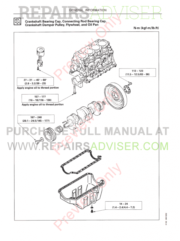 Fiat Kobelco E70SR Evolution Excavator Workshop Manual PDF