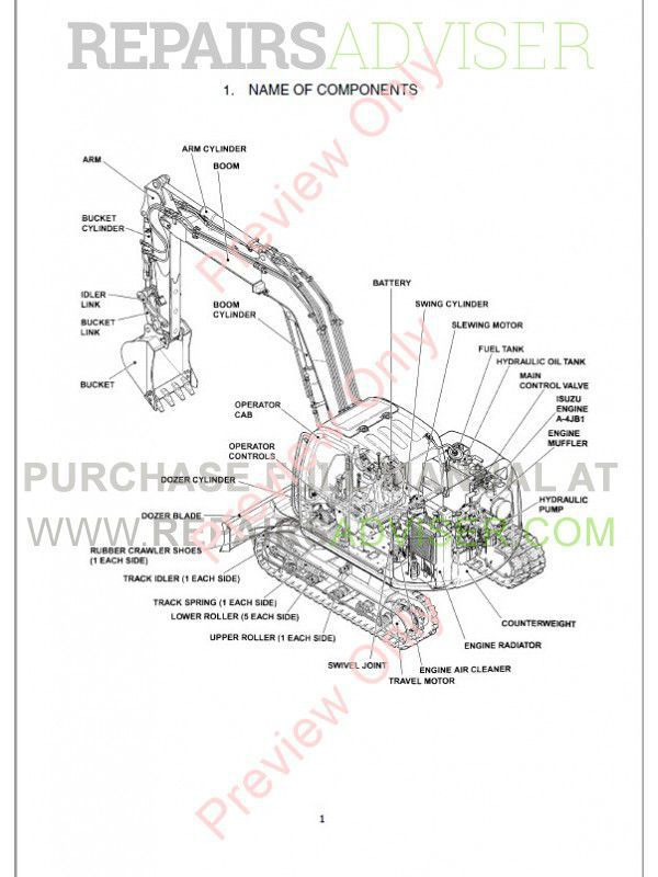Fiat Kobelco E80 Evolution Excavator Workshop Manual PDF