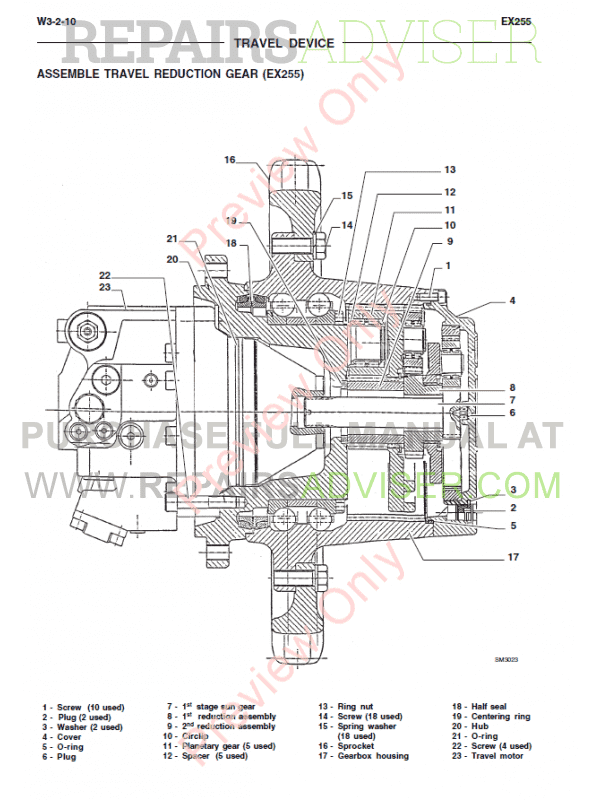 Fiat Kobelco Excavator EX255-EX285 Tier2 Manual PDF