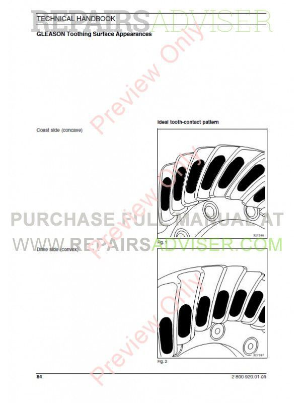 Fiat Kobelco W50, W60, W70 Wheel Loader Technical Handbook