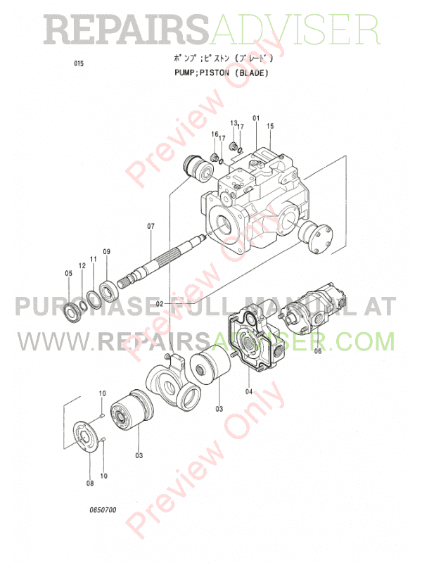 Hitachi EX-3 Series Excavators Set of PDF Parts Catalogs