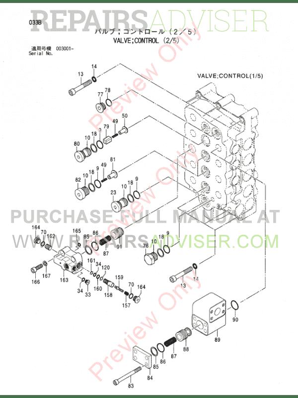 Hitachi EX1200-5D Equipment Components Parts Catalog PDF