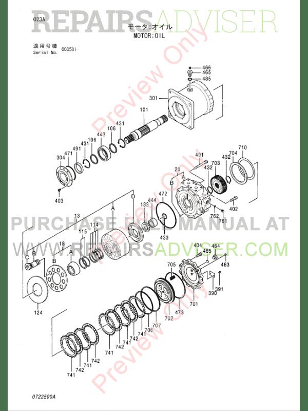 Hitachi EX2500-5 Equipment Components Parts Catalog PDF