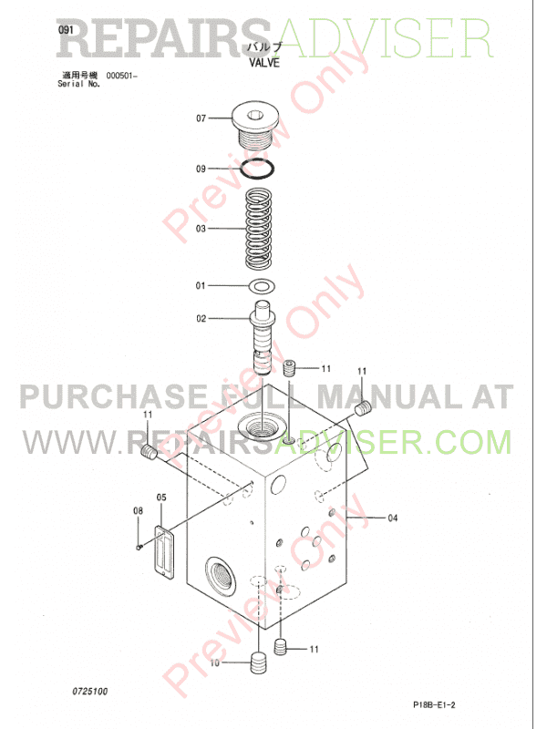 Hitachi EX5500-5 Equipment Components Parts Catalog PDF