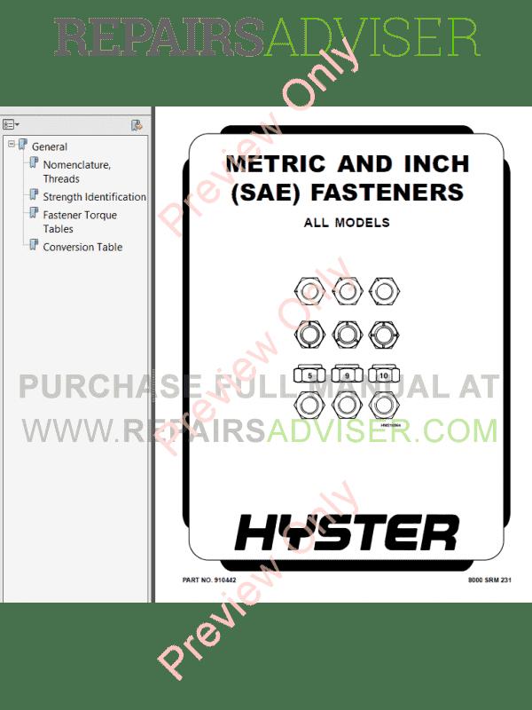 Hyster Class 1 A216 (J40-65XM) Electric Motor Rider Trucks