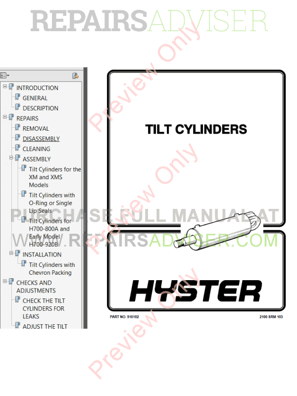 Hyster Class 1 For B114 Europe Electric Motor Rider Trucks