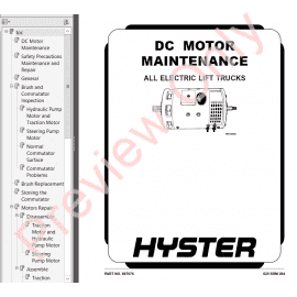 Hyster Class 1 For E114 Electric Motor Rider Trucks PDF