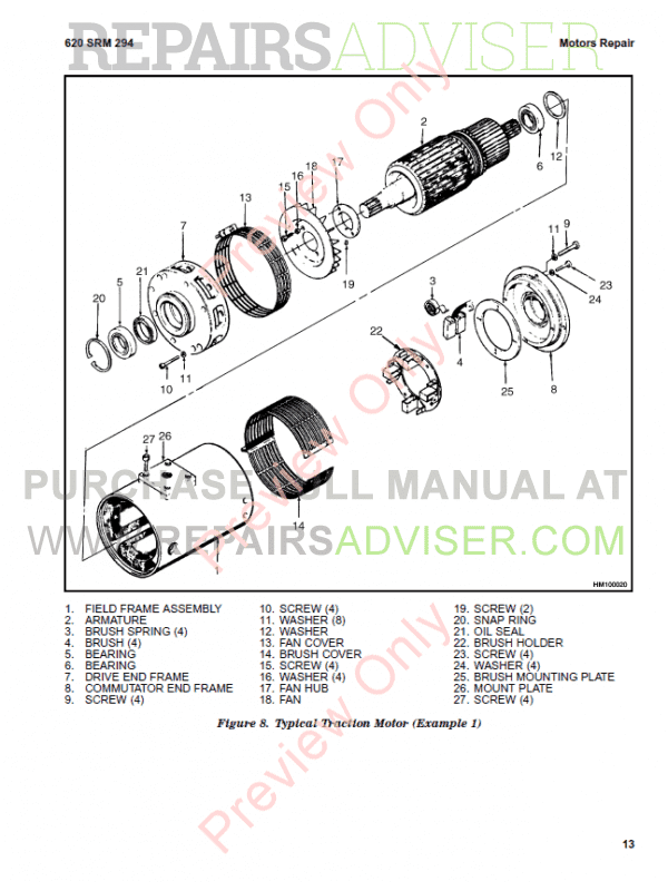 Hyster Class 1 For G108 Electric Motor Rider Trucks PDF