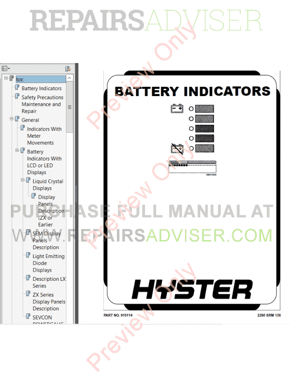 Hyster Class 3 For A230 Electric Motor Hand Trucks PDF
