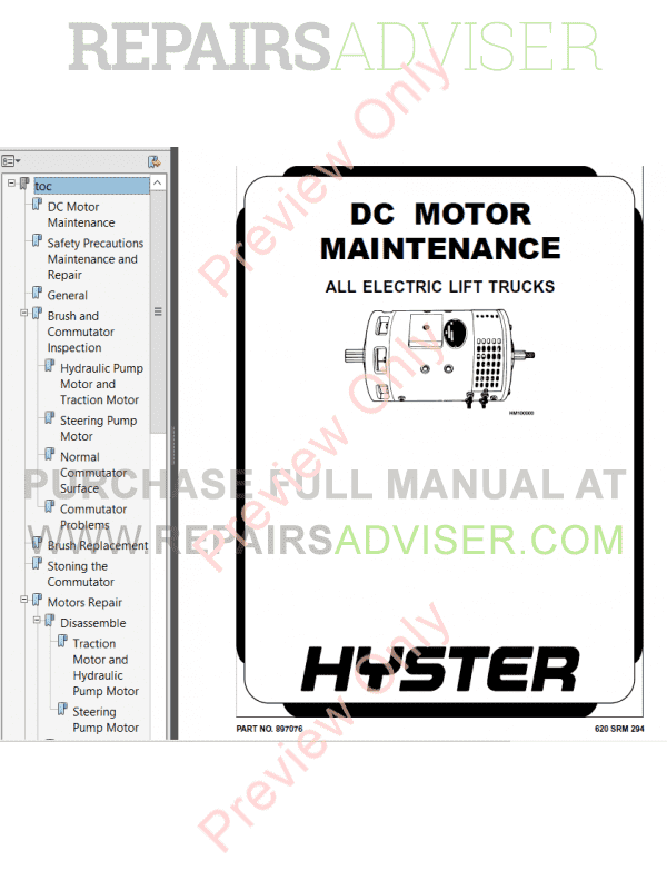 Hyster Class 3 For A231 Electric Motor Hand Trucks PDF