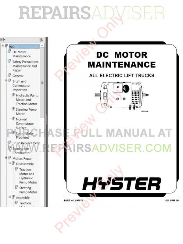 Hyster Class 3 For B218 Electric Motor Hand Trucks PDF